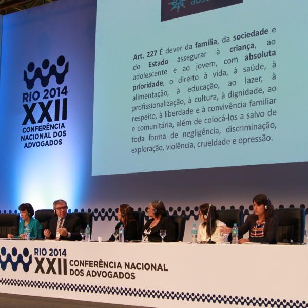 Direitos da criança na XXII Conferência Nacional dos Advogados