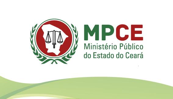 Imagem do logo do M P C E  Ministério Público do estado do ceará