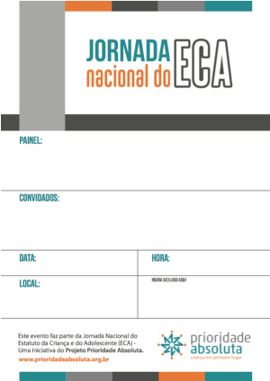 Imagem do Flyer do Jornada Nacional do E C Á
