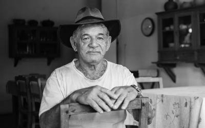 Foto em preto e branco de Manuel Dias Tavares