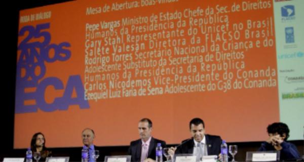 Roda de Diálogo discute os 25 anos do ECA