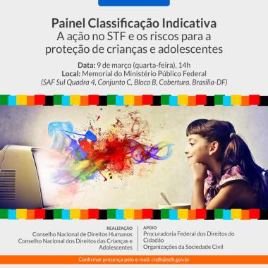 Painel Classificação Indicativa