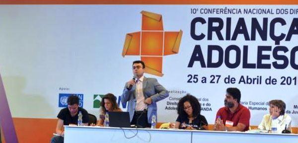 Alana na 10ª Conferência Nacional dos Direitos da Criança e Adolescente