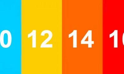 Imagem da classificação indicativa representada por cores.Livre cor verde.10 anos azul12 anos amarelo14 anos Laranja16 anos vermelha18 anos preto.