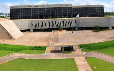 Foto do superior tribunal de justiça brasileira.