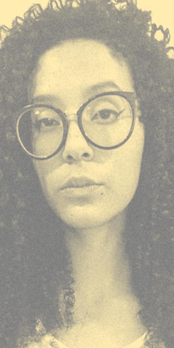 Foto atual de Camila da Silva