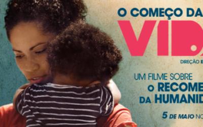 Capa do filme O começo da vida.