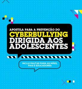 """Capa da apostila: """"Apostila para a Prevenção do Cyberbullying dirigida aos adolescentes"""""""