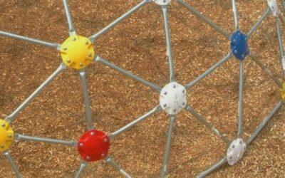 Foto de um geo-playground.