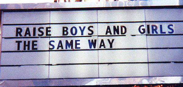 Falar de igualdade de gênero é falar dos direitos da criança
