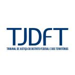 Logo TJDFT Tribunal da Justiça do Distrito e dos territórios.